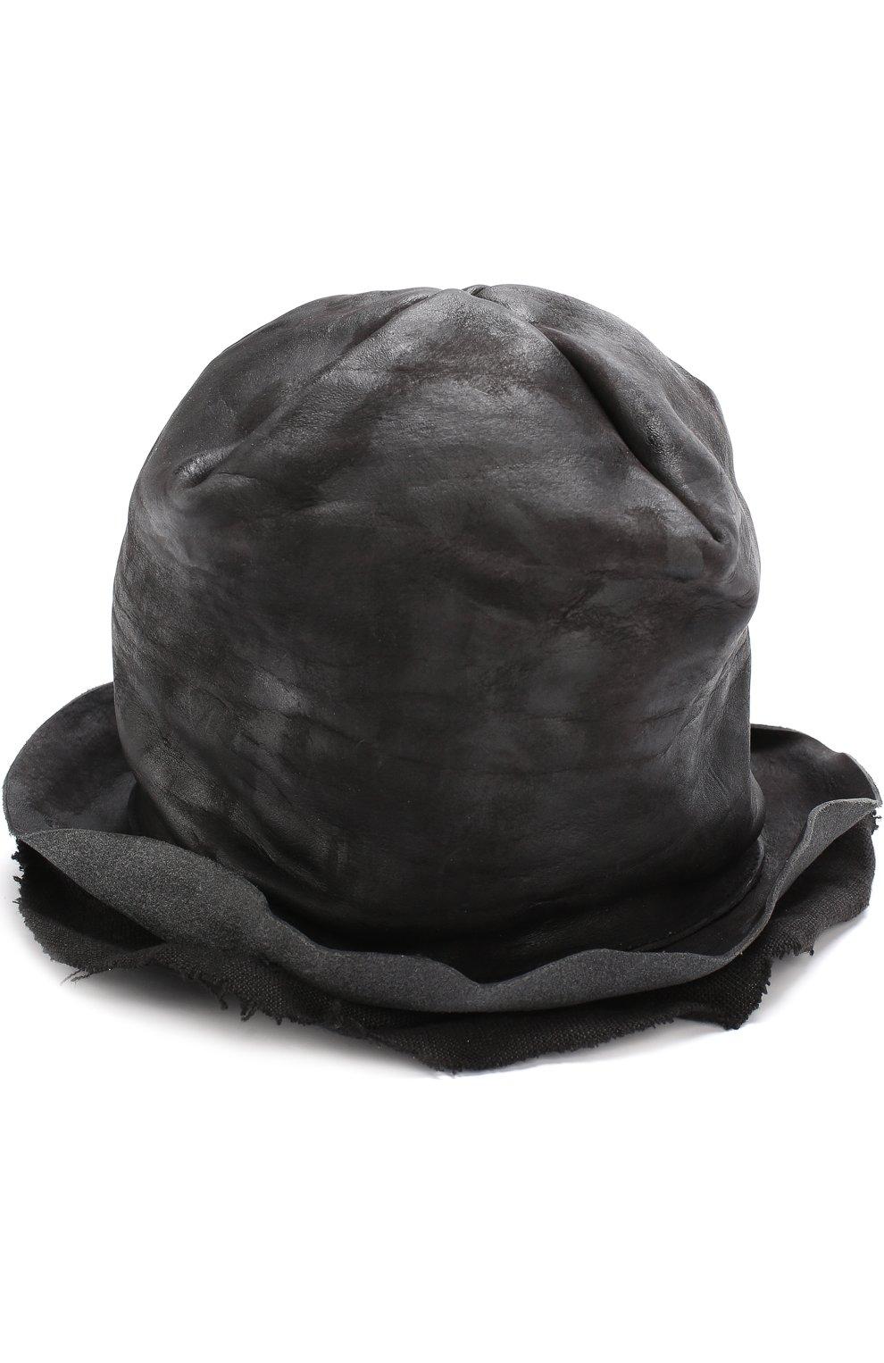 813da59e76a3 Кожаная шляпа