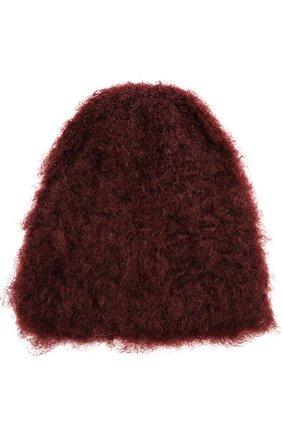 Мохеровая шапка Balmuir кремвого цвета | Фото №1