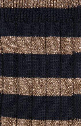 Носки фактурной вязки с металлизированной отделкой Royalties разноцветные | Фото №1