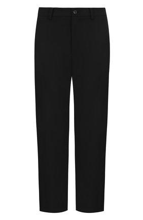 Укороченные брюки прямого кроя | Фото №1