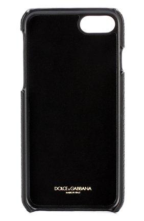 Кожаный чехол для iPhone 7 с аппликациями | Фото №2