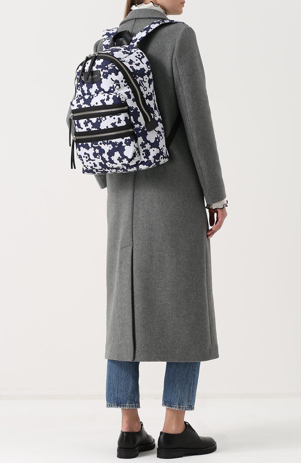 Рюкзак Biker из текстиля с принтом | Фото №2