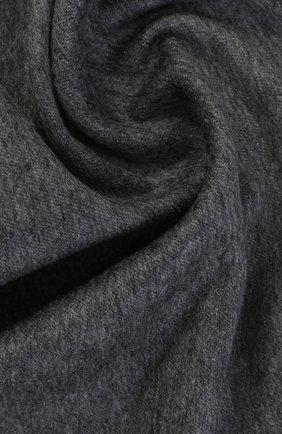 Кашемировый шарф с бахромой | Фото №2