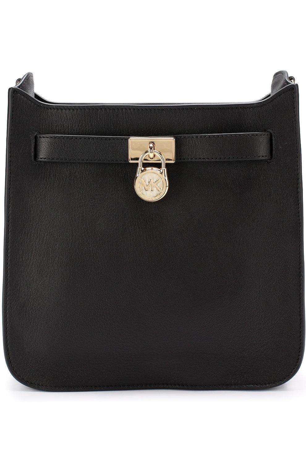 0e504b426dae Женская сумка hamilton MICHAEL MICHAEL KORS черная цвета — купить за ...