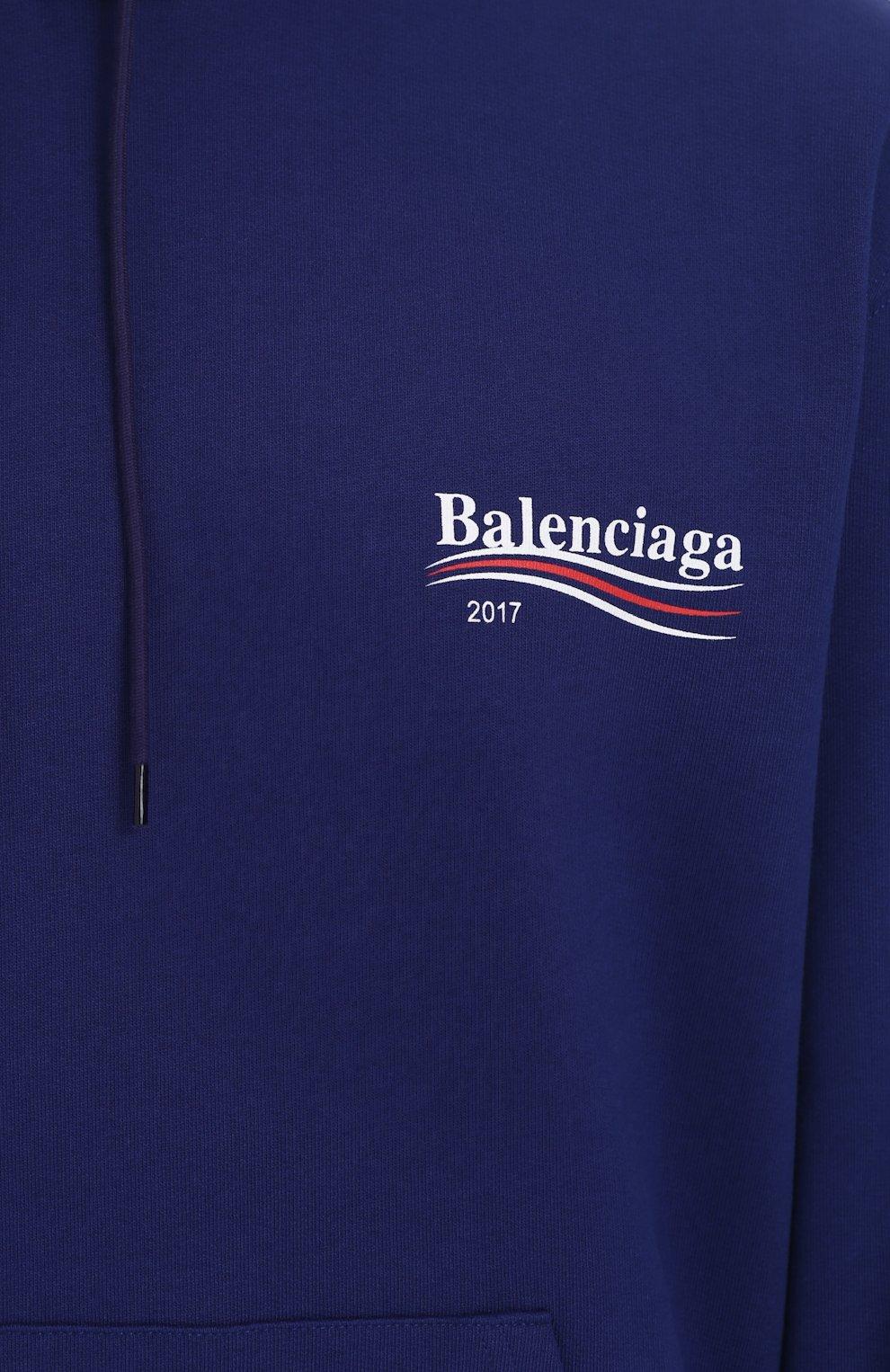Толстовка с капюшоном и логотипом бренда | Фото №5