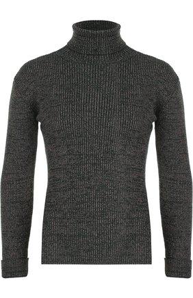 Облегающий свитер с высоким воротником | Фото №1