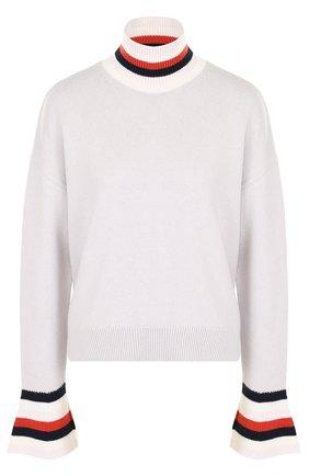 Шерстяной свитер свободного кроя