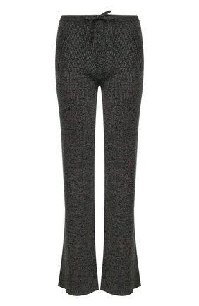 Расклешенные вязаные брюки | Фото №1
