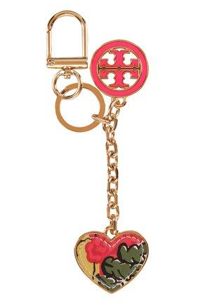 Брелок для ключей с кожаной отделкой | Фото №1