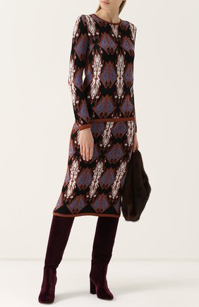 Пуловер с круглым вырезом и принтом Tak.Ori черный | Фото №1