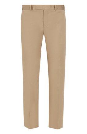 Хлопковые брюки чинос | Фото №1