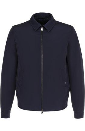 Куртка на молнии с отложным воротником