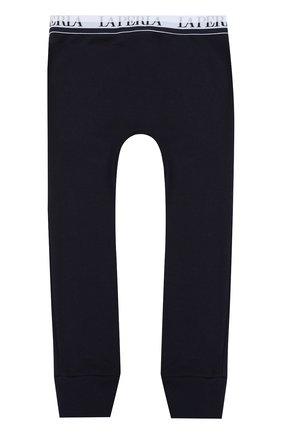 Хлопковые брюки с эластичным поясом | Фото №2