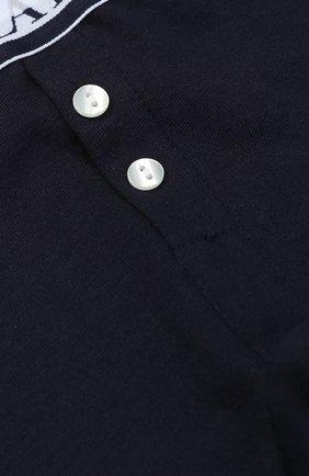 Хлопковые брюки с эластичным поясом | Фото №3