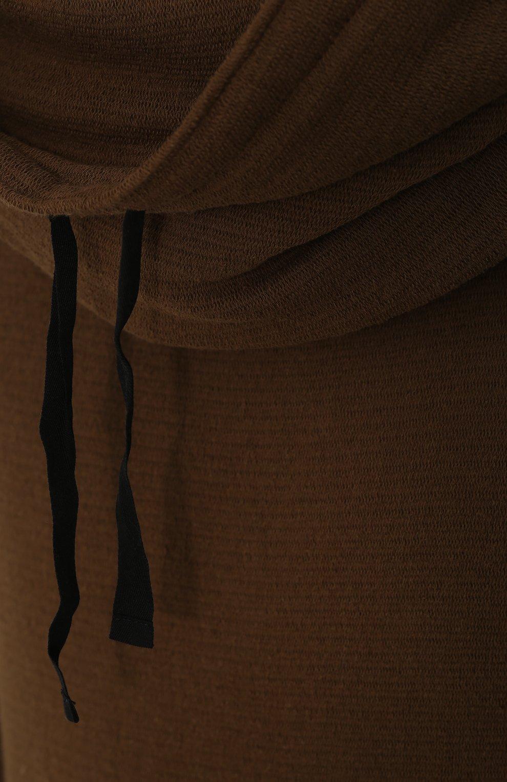 Хлопковая толстовка с объемным воротником | Фото №5