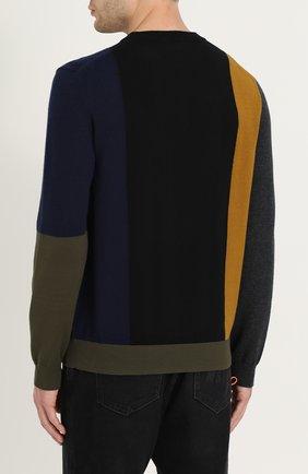 Джемпер из смеси хлопка и шерсти с кашемиром | Фото №4