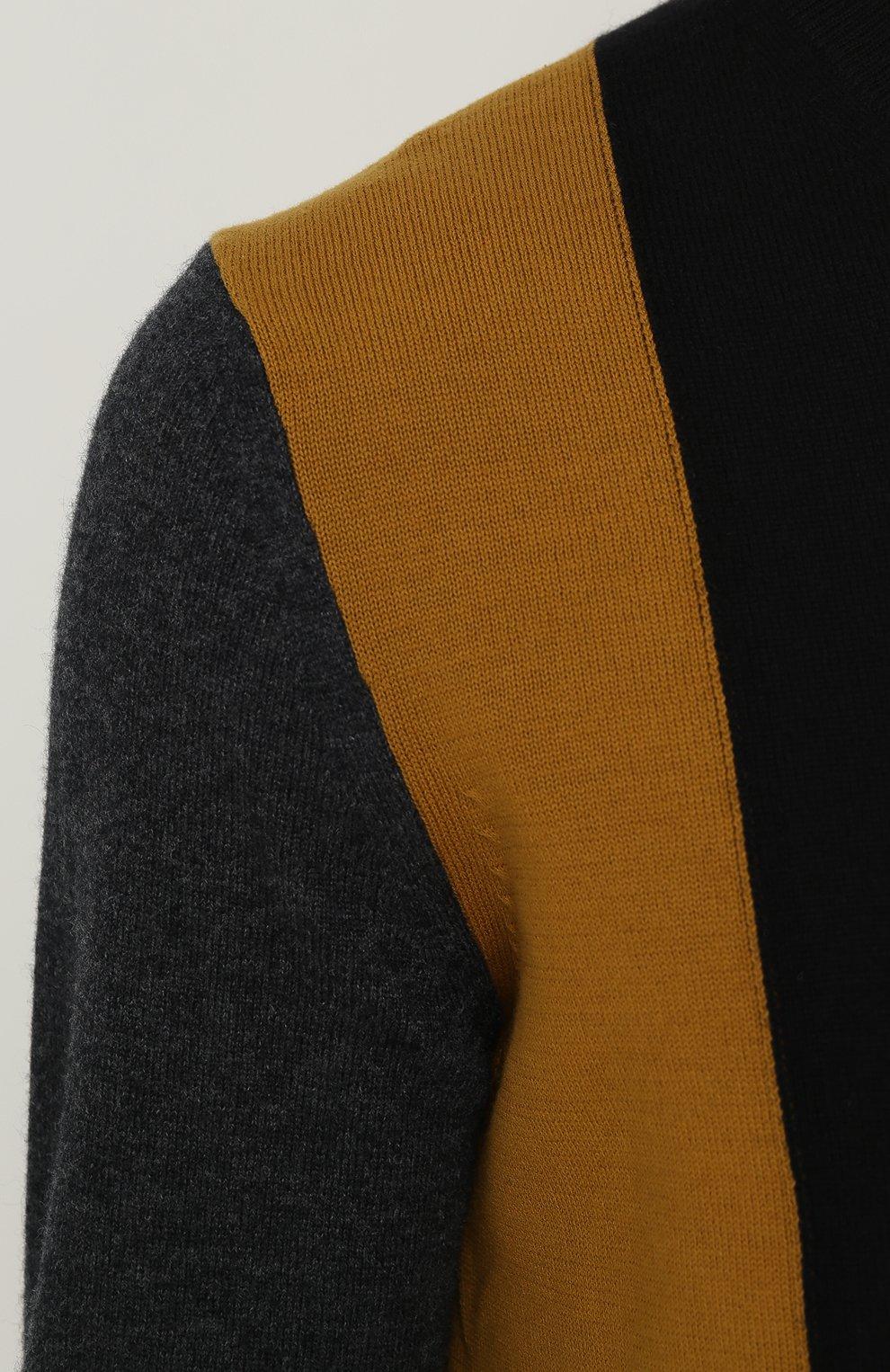 Джемпер из смеси хлопка и шерсти с кашемиром | Фото №5