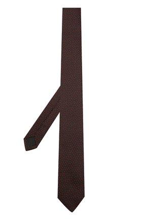 Шелковый галстук с принтом | Фото №2