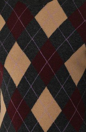 шерстяной джемпер с узором | Фото №5