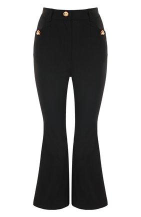 Укороченные расклешенные брюки Dolce & Gabbana черные | Фото №1
