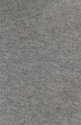 Шерстяной джемпер с воротником на молнии | Фото №5