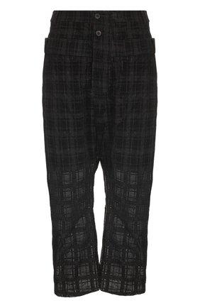 Хлопковые брюки свободного кроя | Фото №1