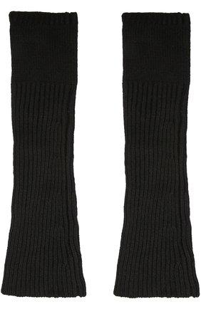 Кашемировые митенки Balmuir темно-бежевые | Фото №1