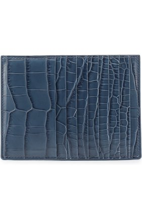 Футляр для кредитных карт из крокодиловой кожи | Фото №1