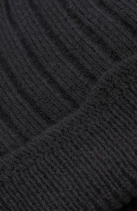 Кашемировая шапка фактурной вязки | Фото №2