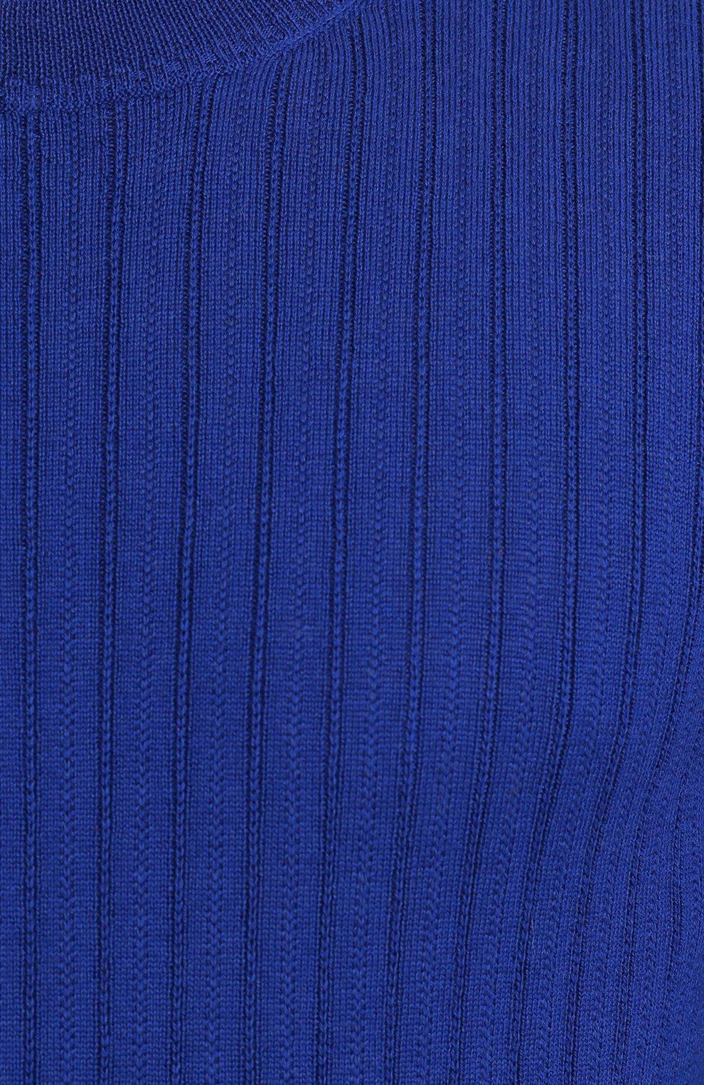 Шерстяной джемпер фактурной вязки | Фото №5