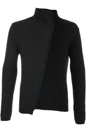 Шерстяной свитер прямого кроя | Фото №1