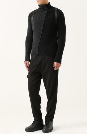 Шерстяной свитер прямого кроя | Фото №2
