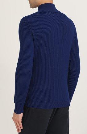 Шерстяной свитер с воротником на молнии | Фото №4