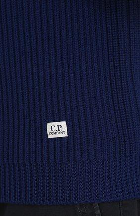 Шерстяной свитер с воротником на молнии | Фото №5