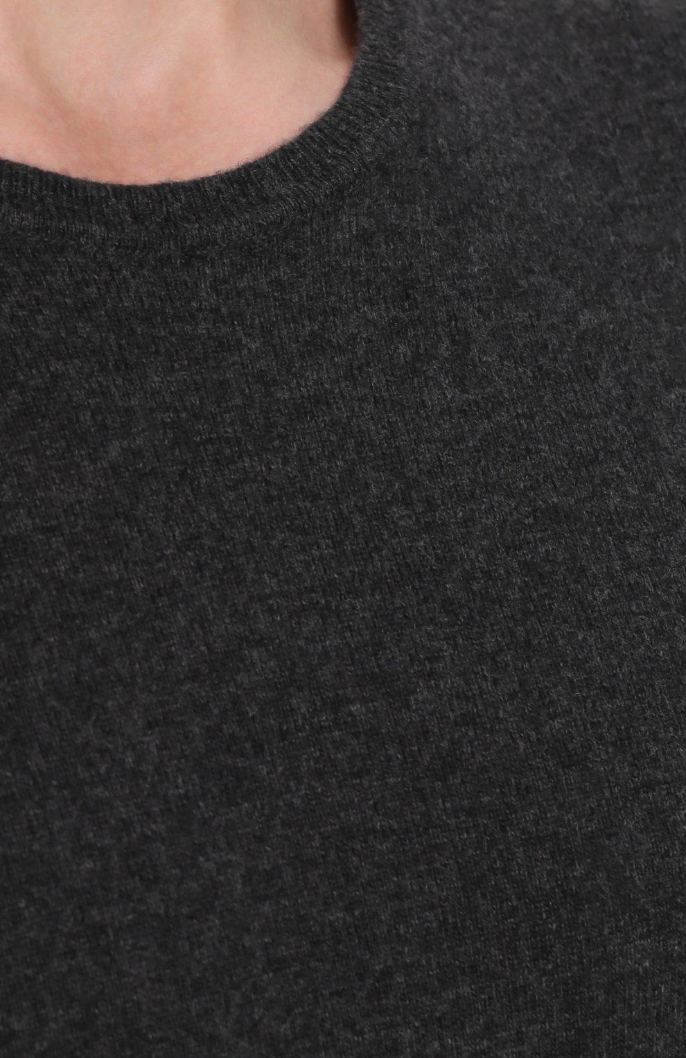 Шерстяной джемпер с заплатками | Фото №5