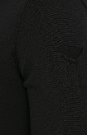 Шерстяная водолазка прямого кроя | Фото №5