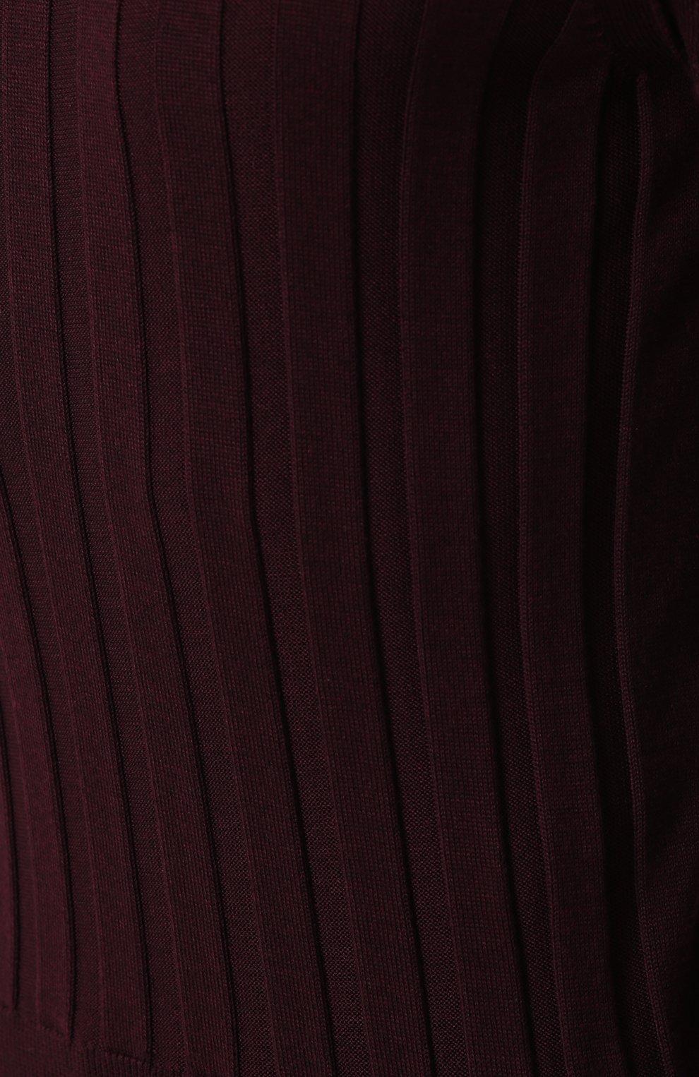 Водолазка фактурной вязки из смеси кашемира и шелка   Фото №5