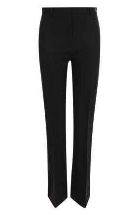 Укороченные брюки прямого кроя со стрелками Joseph черные | Фото №1