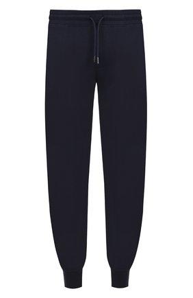 Мужской хлопковые джоггеры с карманами BOSS темно-синего цвета, арт. 50375967 | Фото 1