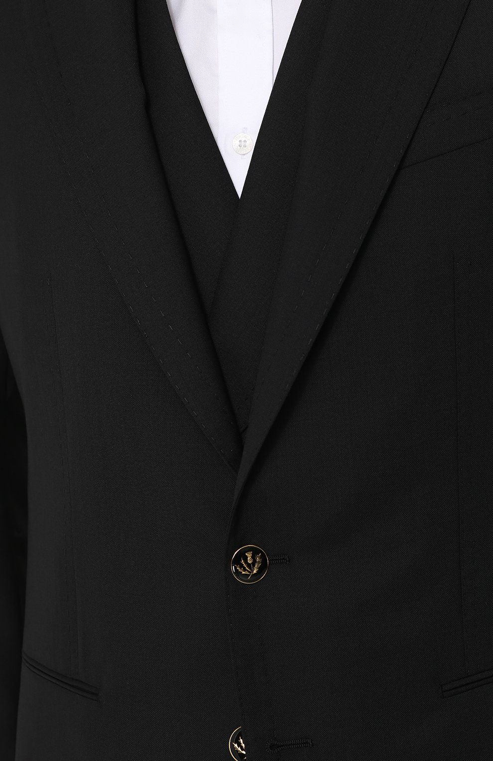 Шерстяной костюм-тройка   Фото №8