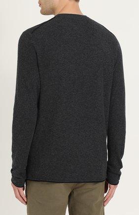 Джемпер из смеси хлопка и шерсти | Фото №4
