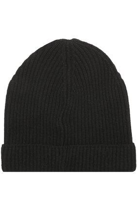 Кашемировая шапка бини Woolrich черного цвета | Фото №1