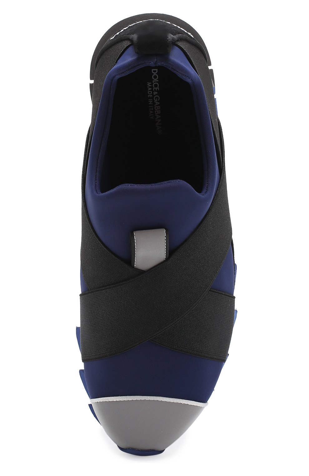 Кроссовки Ibiza на рельефной подошве Dolce & Gabbana темно-синие | Фото №5