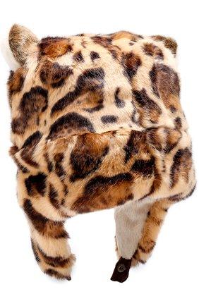 Шапка Dolce & Gabbana бежевого цвета   Фото №4