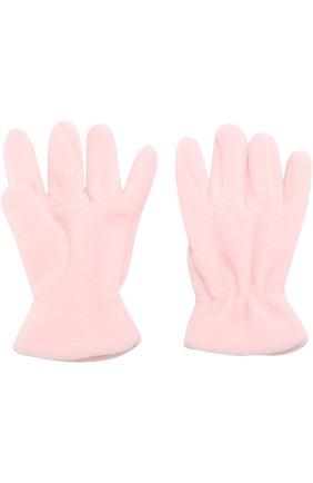 Детские текстильные перчатки CATYA розового цвета, арт. 721518 | Фото 2