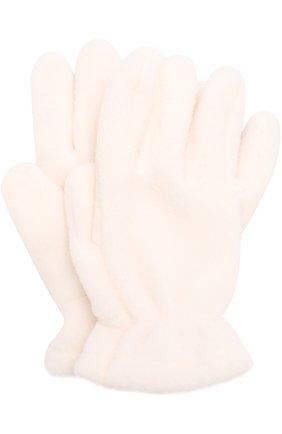 Детские текстильные перчатки CATYA белого цвета, арт. 721518 | Фото 1