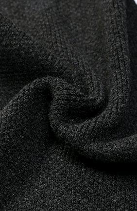 Кашемировый шарф Kashja` Cashmere темно-серый   Фото №1