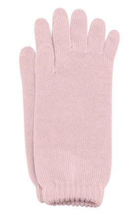 Удлиненные вязаные перчатки | Фото №1