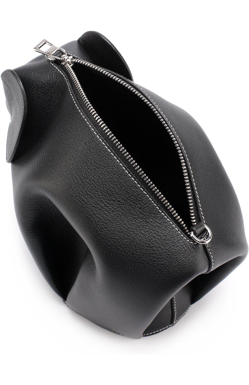 c12e55b0706b Женская сумка elephant LOEWE черная цвета — купить за 72350 руб. в ...