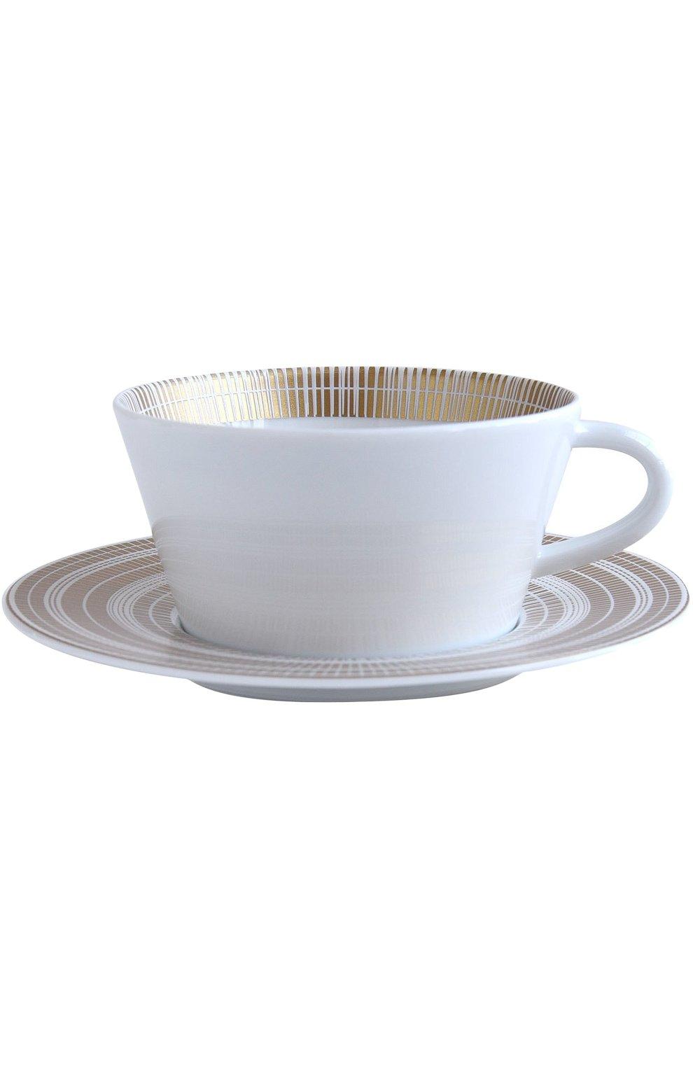 Чайная чашка с блюдцем Canisse Bernardaud  | Фото №1